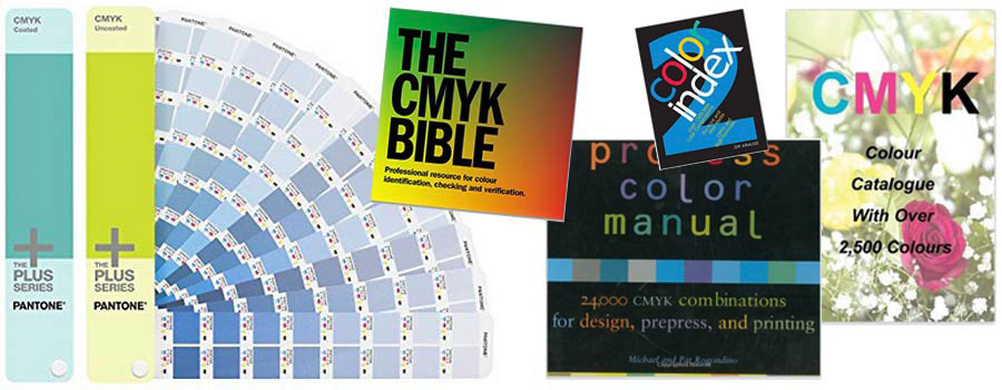 Where To Buy Cmyk Charts & Swatch Books | Ne14 Design