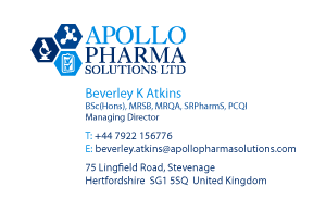Apollo Pharma Solutions Business Card