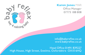 Baby Reflexology Business Card