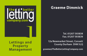 The Better Letting Company Business Card