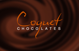 Coquet Chocolates Business Card
