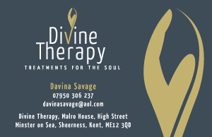 Divine Therapy Treatments Business Card