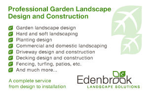 Edenbrook Landscape Solutions Business Card