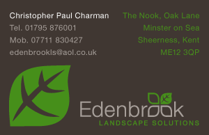Landscaping Business Card