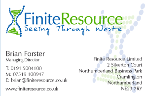 Finite Resource Business Card