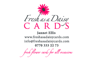 Fresh as a Daisy Business Card