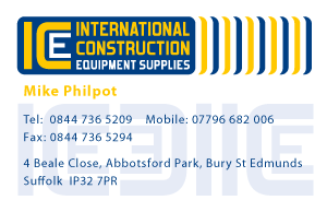 International Construction Business Card