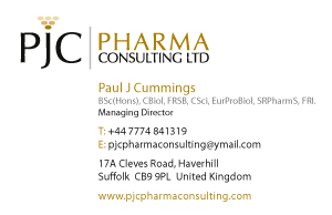 Pharma Consultancy Business Card