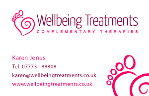 Complementary Therapies Business Card