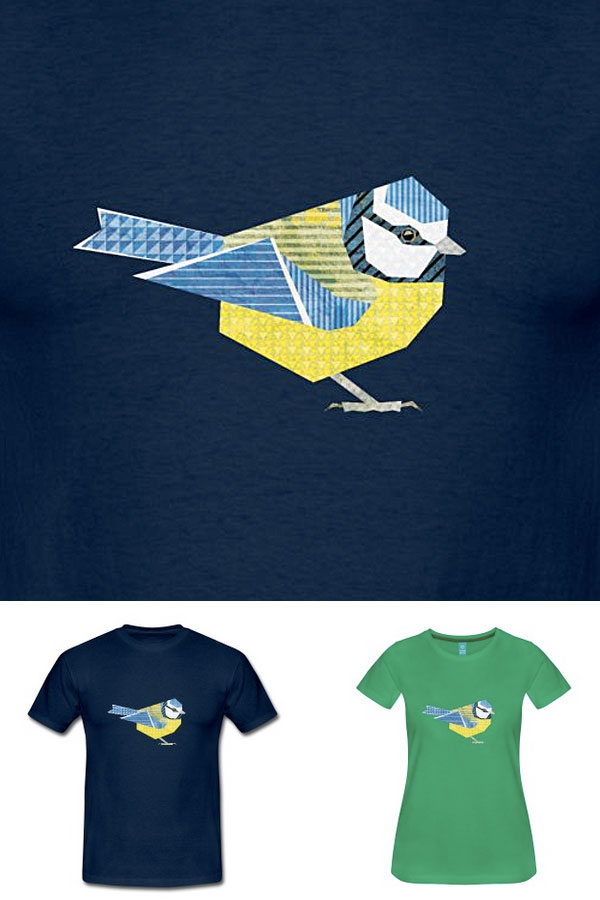 Blue Tit T-Shirt