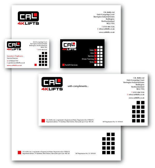 Forklift Truck Company Stationery