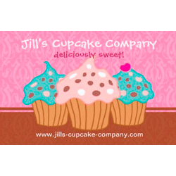 Cupcake Business Cards