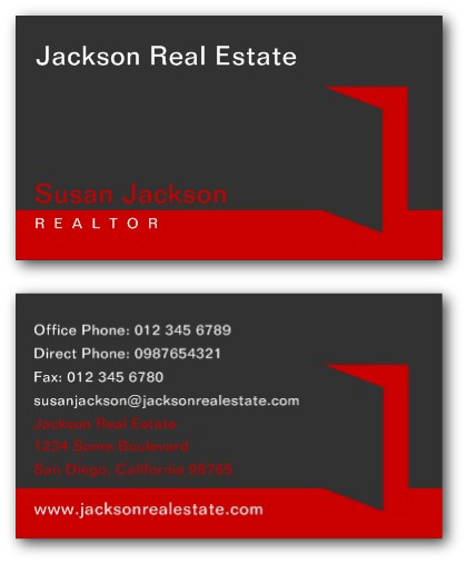 Creative Real Estate Business Cards by Ne14 Design