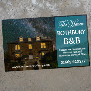 Rothbury Bed and Breakfast Guesthouse Flyer