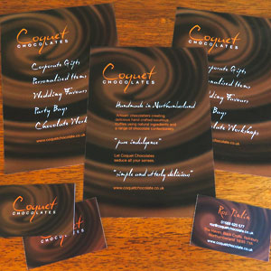 Chocolate Business Flyers