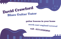 Blues Guitar Tutor