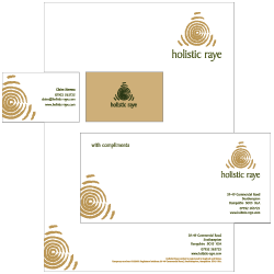 Holistic Therapies Stationery Designs