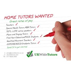 Home Tutoring Flyer Samples