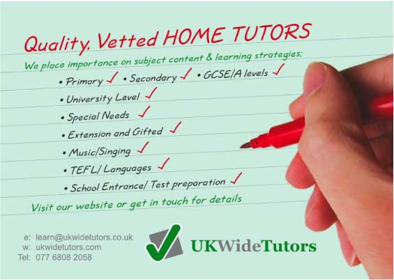 Home tutors flyer sample design