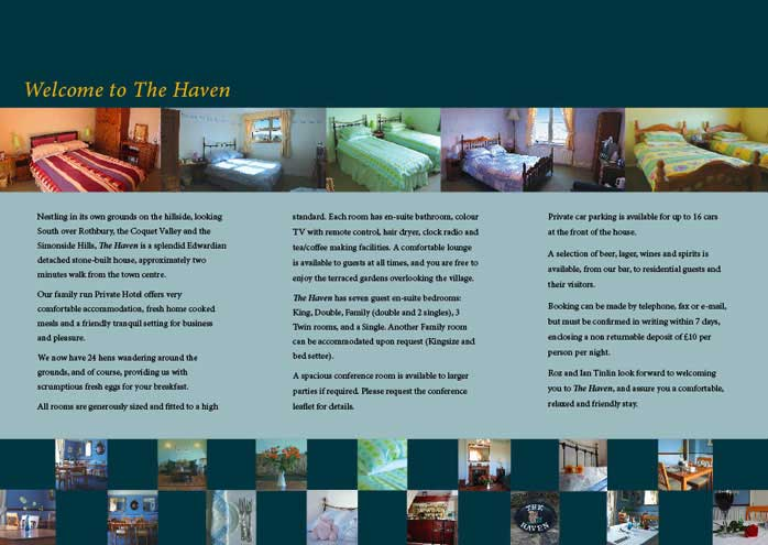 Hotel Leaflet Sample Design  Ne Design