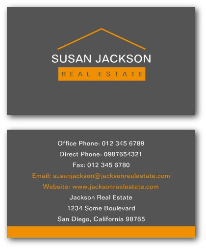 Real estate business cards by ne14 design real estate business cards wajeb Images