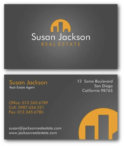Creative real estate business cards by ne14 design city real estate agent business card colourmoves