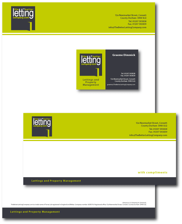 Real Estate Agent Business Stationery